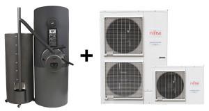 Hibridni sistemi toplotnih črpalk.