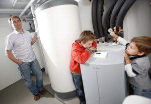 toplotna črpalka za ogrevanje stanovanjske hiše