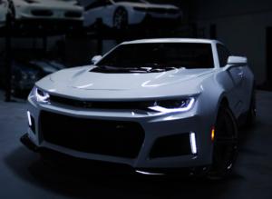 Karoserija avtomobila Chevrolet Camaro