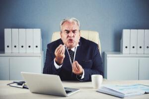 Čustvena inteligenca na delovnem mestu - primer jeznega direktorja.